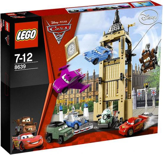 LEGO Disney / Pixar Cars Cars 2 Big Bentley Bust Out Set #8639