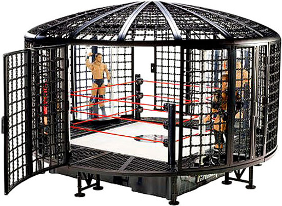 WWE Wrestling Ring Elimination Chamber Exclusive Playset