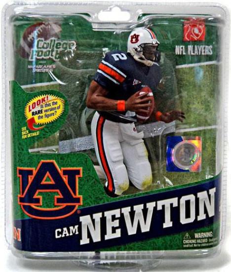 McFarlane Toys NCAA College Football Sports Picks Series 4 Cam Newton Action Figure [Blue Jersey]