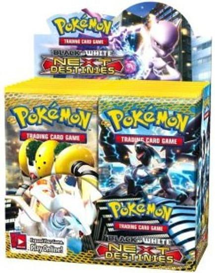 Pokemon Trading Card Game Black & White Next Destinies Booster Box [36 Packs]
