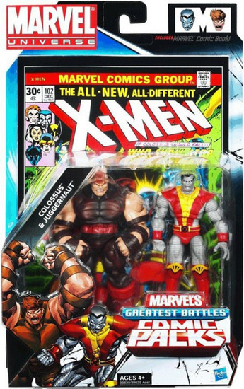 Marvel Universe Colossus vs. Juggernaut Action Figure 2-Pack