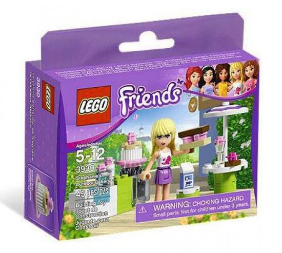 LEGO Friends Stephanie's Outdoor Bakery Set #3930
