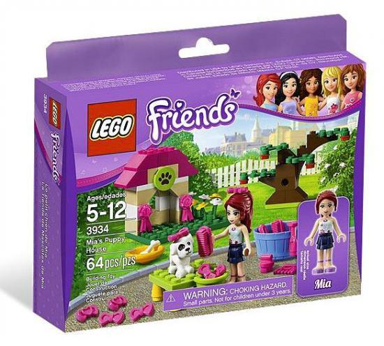 LEGO Friends Mia's Puppy House Set #3934