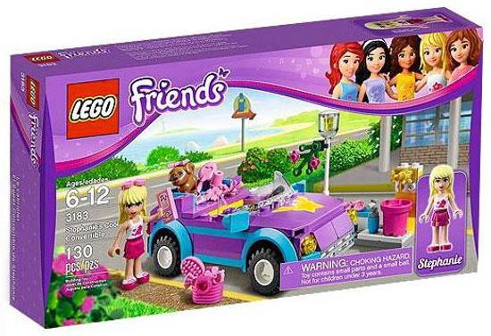 LEGO Friends Stephanie's Cool Convertible Set #3183