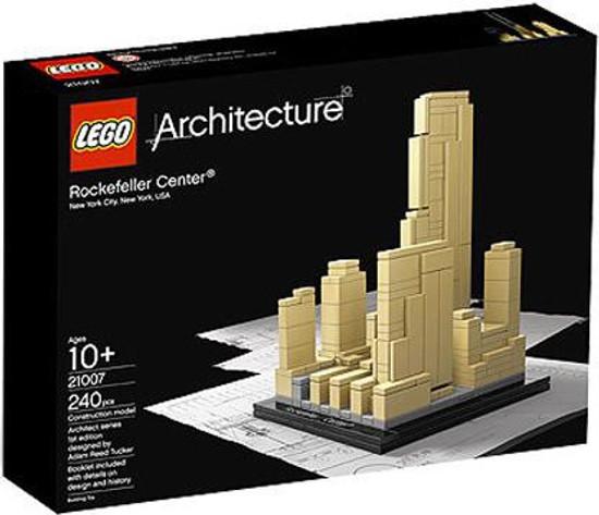 LEGO Architecture Rockefeller Center Set #21007