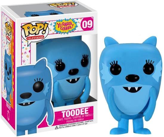 Funko Yo Gabba Gabba POP! TV Toodee Vinyl Figure #09