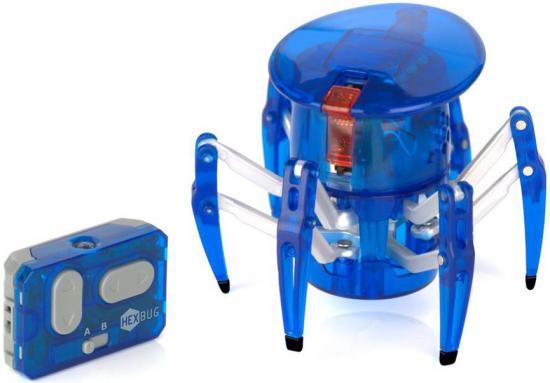 Hexbug Micro Robotic Creatures Spider [Blue]