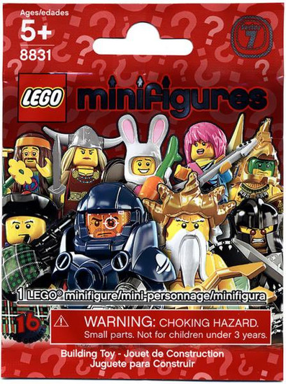 LEGO Minifigures Series 7 Mystery Pack