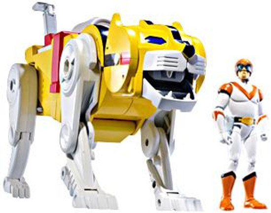 Voltron Club Lion Force Yellow Lion & Hunk Exclusive Action Figure 2-Pack