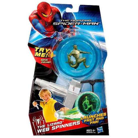 The Amazing Spider-Man The Lizard Web Spinners