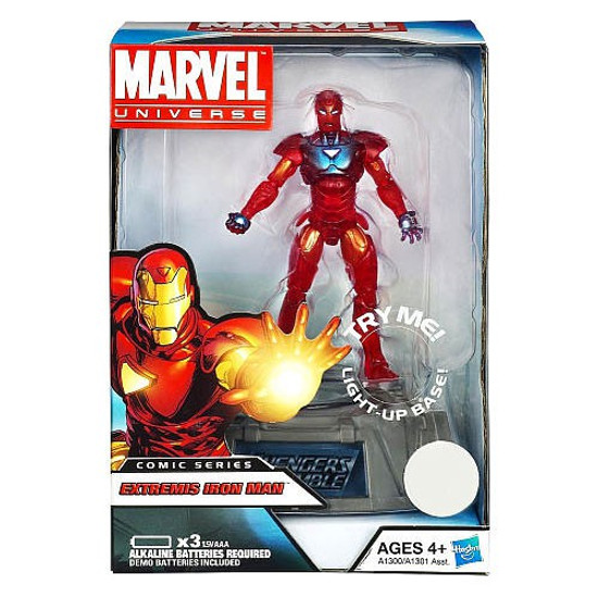 Marvel Avengers Comic Series Extremis Iron Man Exclusive Action Figure