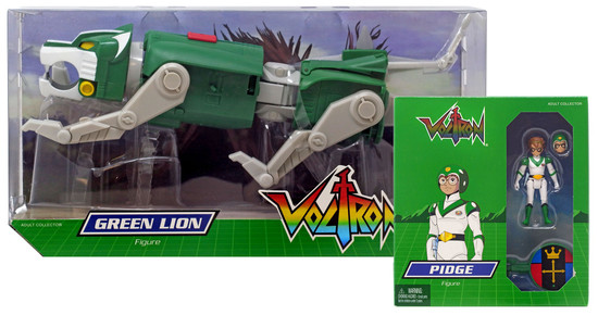 Voltron Club Lion Force Green Lion & Pidge Exclusive Action Figure 2-Pack
