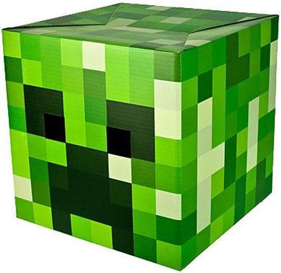 Minecraft Creeper Cardboard Head