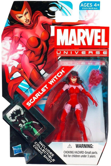 Marvel Universe Series 19 Scarlet Witch Action Figure #16
