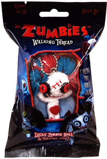 The Zumbies Walking Thread Lucky Zombie Doll Madeline Keychain