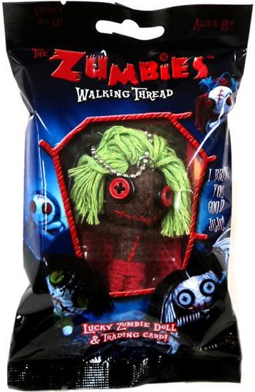 The Zumbies Walking Thread Lucky Zombie Doll Smitty Keychain