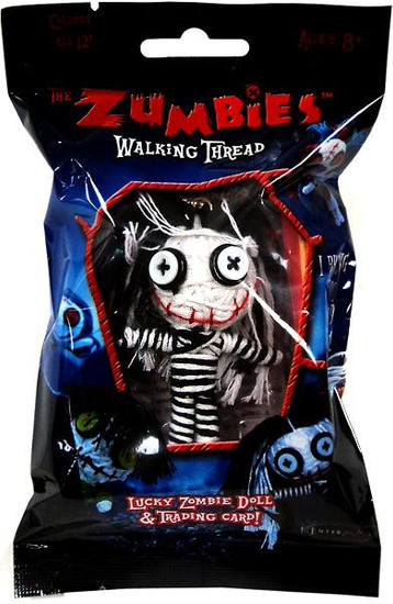 The Zumbies Walking Thread Lucky Zombie Doll Priscilla Keychain