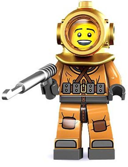 LEGO Minifigures Series 8 Diver Minifigure [Loose]