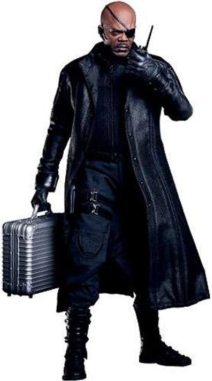 Marvel Avengers Movie Masterpiece Nick Fury Collectible Figure