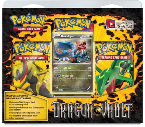 Pokemon Trading Card Game Dragon Vault Special Edition [3 Booster Packs & Promo Card]