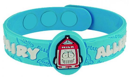 AllerMates Dairy Allergy Bracelet