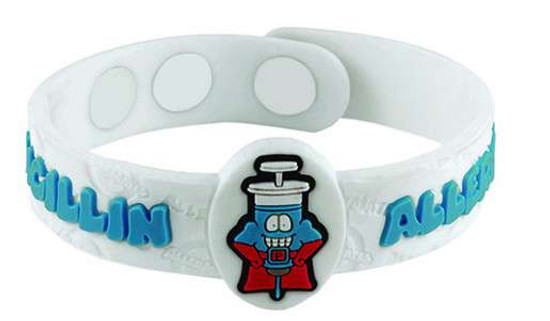 AllerMates Penicillin Allergy Bracelet