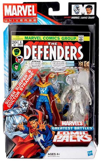 Marvel Universe Silver Surfer & Doctor Strange Exclusive Action Figure 2-Pack