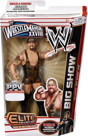 WWE Wrestling Elite Collection WrestleMania 28 Big Show Exclusive Action Figure [Big Show Hat]