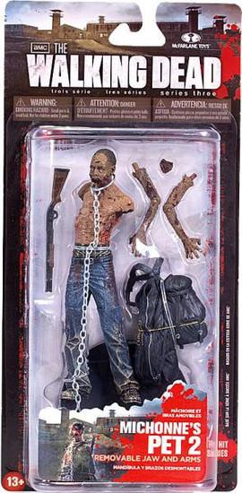 McFarlane Toys The Walking Dead AMC TV Series 3 Michonne's Pet Zombie 2 Action Figure