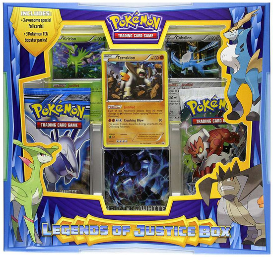 Pokemon Trading Card Game Black & White Legends of Justice Box [3 Booster Packs & 3 Promo Cards]