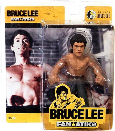 FanAtiks Series 3 Bruce Lee Action Figure [Enter the Dragon, Black Pants]