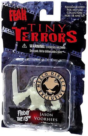 Nightmare on Elm Street Cinema of Fear Tiny Terrors Series 1 Jason Voorhees Exclusive Mini Figure [Glow-in-the-Dark]