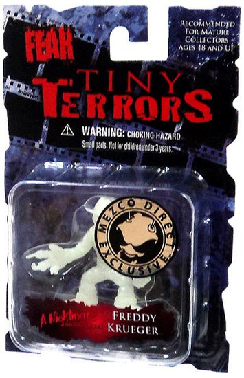 Nightmare on Elm Street Cinema of Fear Tiny Terrors Series 1 Freddy Krueger Exclusive Mini Figure [Glow-in-the-Dark]