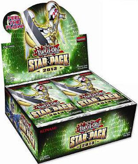 YuGiOh Trading Card Game Star Pack 2013 (1st Edition) Booster Box [50 Packs]