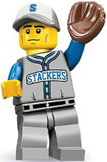 LEGO Minifigures Series 10 Baseball Fielder Minifigure [Loose]