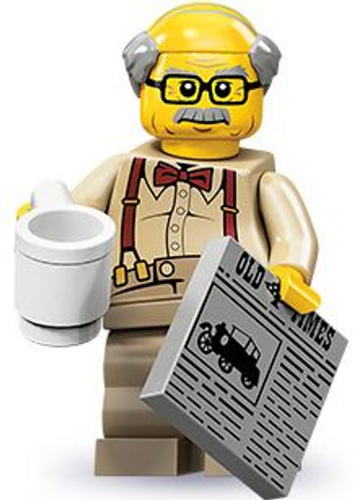 LEGO Minifigures Series 10 Grandpa Minifigure [Loose]