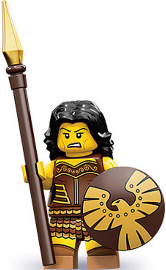 LEGO Minifigures Series 10 Warrior Woman Minifigure [Loose]