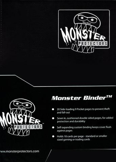 Card Supplies Matte Black 9-Pocket Binder