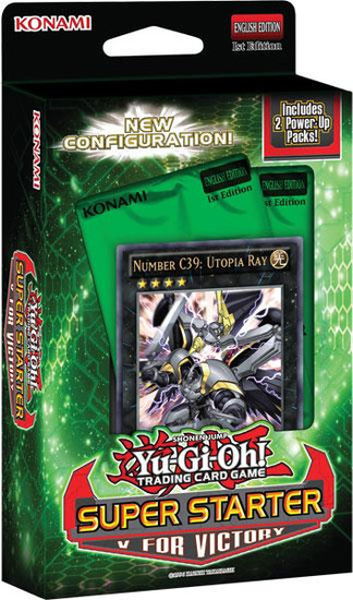 YuGiOh Trading Card Game 2013 Super Starter: V for Victory Starter Deck