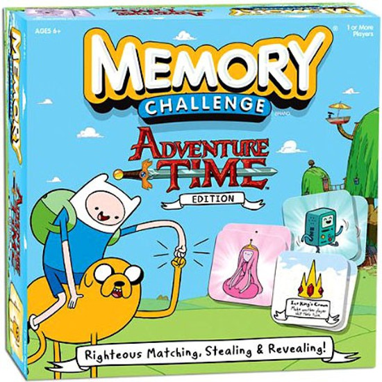 Adventure Time Memory Challenge Card Game