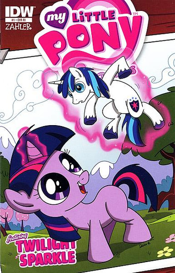 My Little Pony Micro-Series #1 Featuring Twilight Sparkle Comic Book [Retailer Incentive]