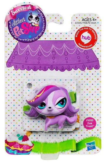 Littlest Pet Shop Sweetest Zoe Trent Figure #3053