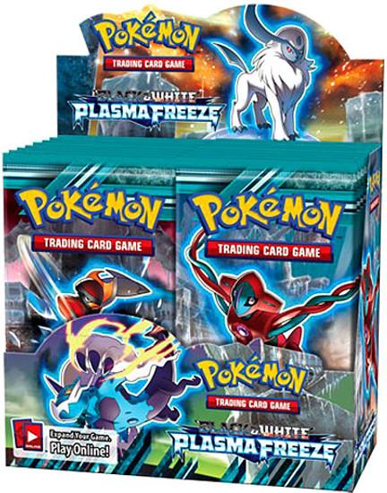 Pokemon Trading Card Game Black & White Plasma Freeze Booster Box [36 Packs]