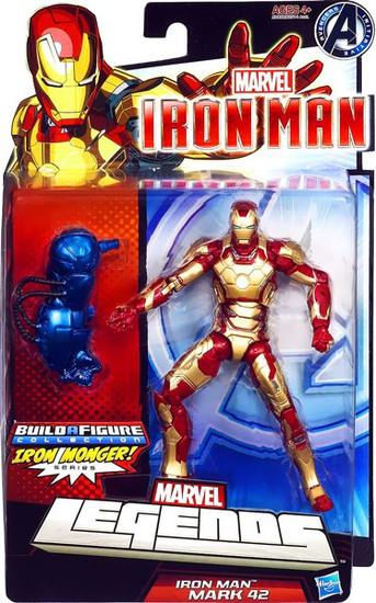 Marvel Legends Iron Monger Series Iron Man Mark 42 Action Figure