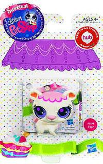 Littlest Pet Shop Sweetest Bear Figure #3119 [White]