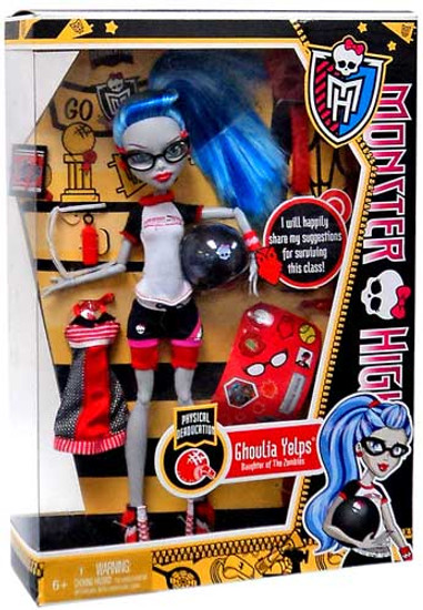 Monster High Classroom Physical Deaducation Ghoulia Yelps 10.5-Inch Doll [No Locker]