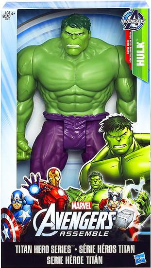 Marvel Avengers Assemble Titan Hero Series Hulk Action Figure [Avengers Assemble]