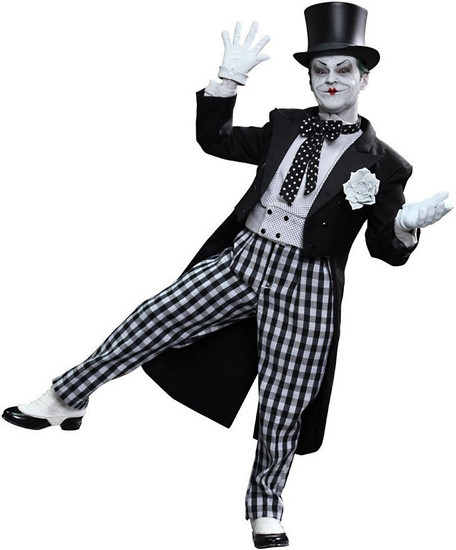 Batman 1989 Movie Movie Masterpiece Deluxe The Joker Collectible Figure DX-14 [Mime Version]