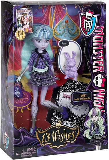 Monster High 13 Wishes Twyla 10.5-Inch Doll