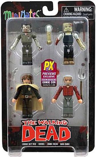 The Walking Dead Minimates Exclusives Herschels Farm Exclusive Minifigure 4-Pack
